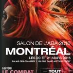 Salon ABA Montréal le 20-21 mars 2016