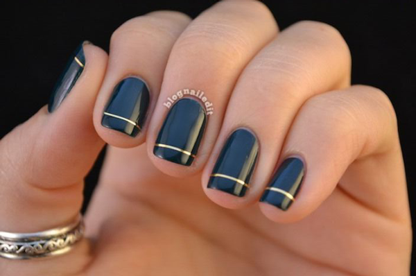 nail-art-noir-or
