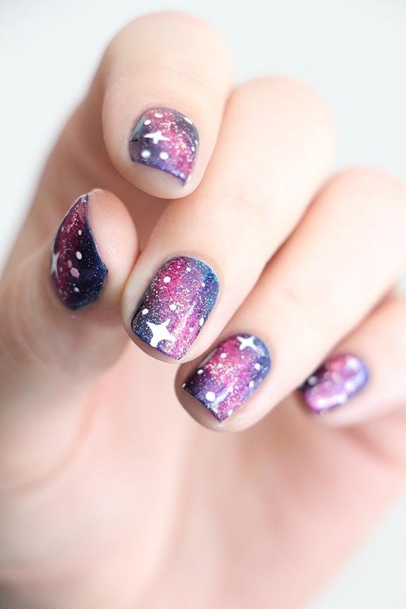 galaxy nails jesuisvernis