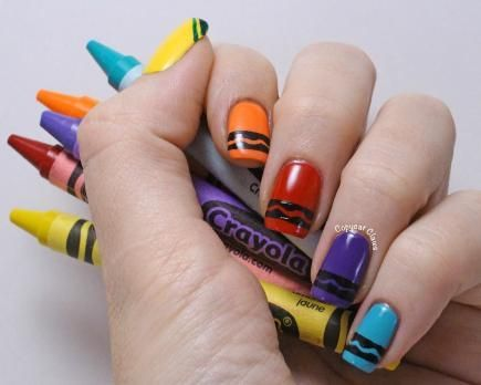 nail-art-crayon-couleur-ecole
