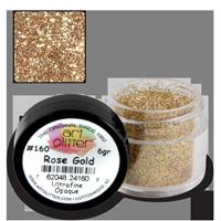 Art Glitter Paillettes Rose Gold