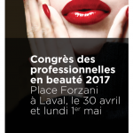 Congrès des professionnelles en Beauté 2017