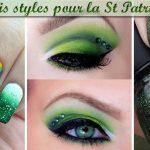 Trois styles pour la Saint Patrick