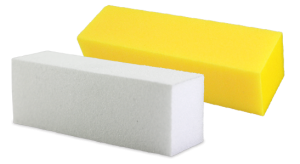 bloc sableur jaune et blanc