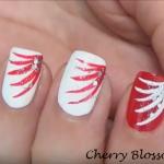 Nail Art facile pour la fête du Canada