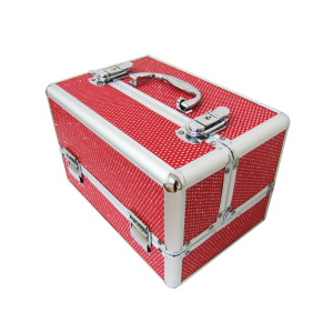 valise manucure rouge