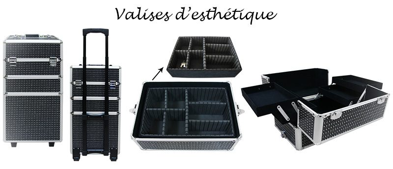 valise pour produits de beauté