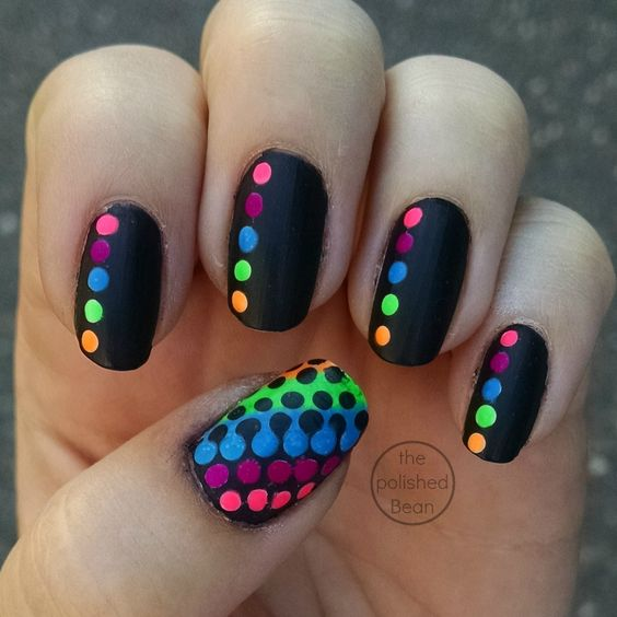 color dot nails 2