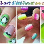 23 nail art d'été haut en couleur !