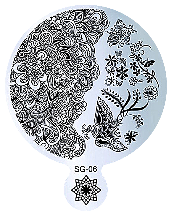 plaque stamping ronde