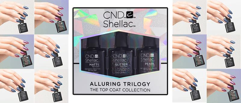 shellac Top Matte Pearl Glitter
