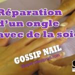 Réparer un ongle cassé en 5 minutes !