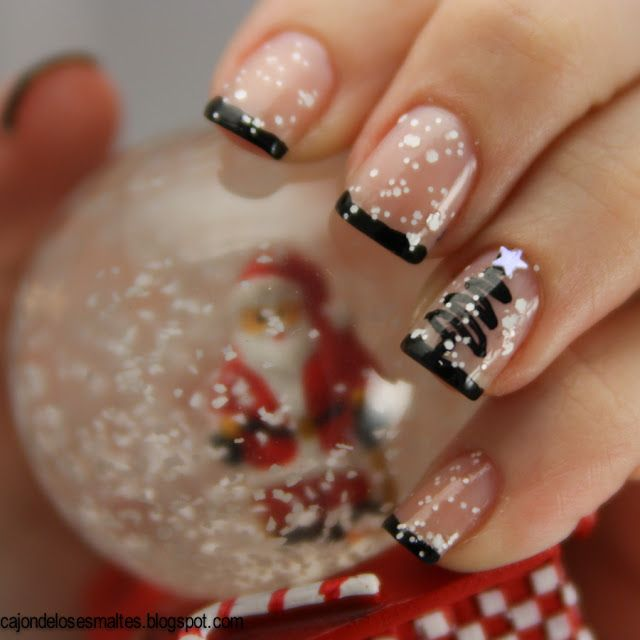 christmas-party-nail-art