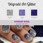 Vidéo dégradé Art Glitter