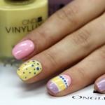 Nail art Pâques et pastels