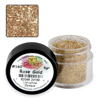 Art Glitter Paillettes Rose Gold