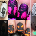 Top 10 nail-art Halloween 2016