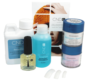 ongles acrylique cnd retention