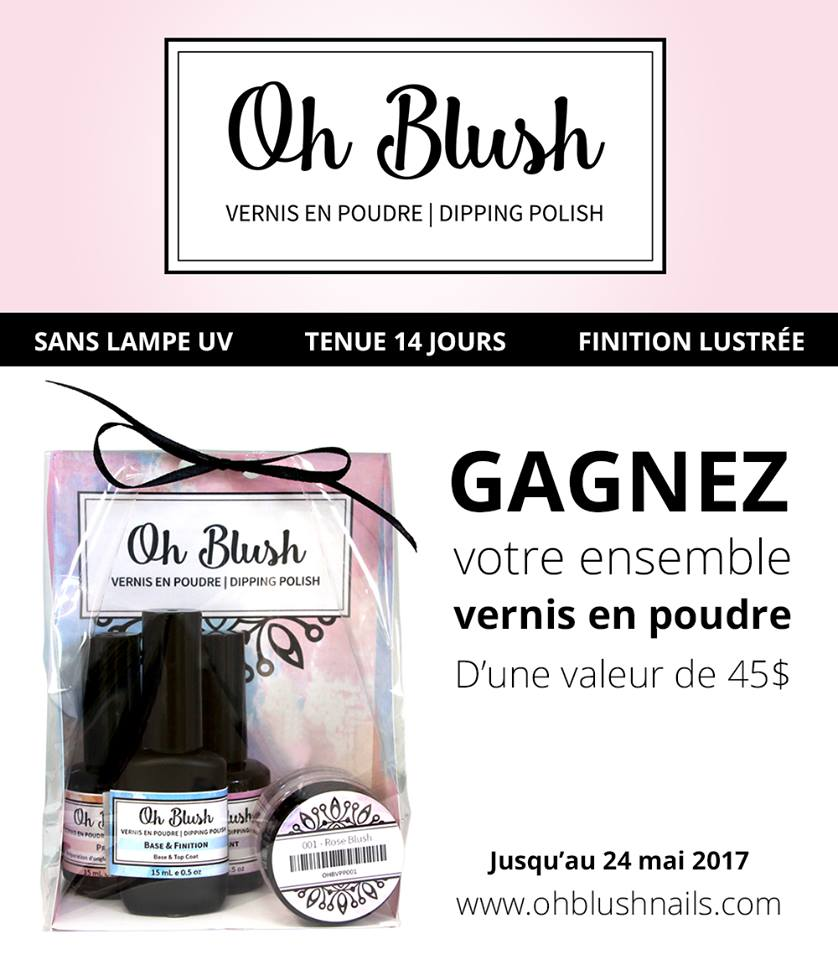 Concours Oh Blush