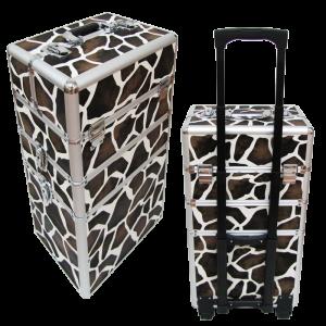 valise beauté girafe