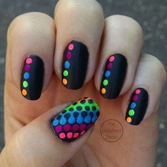 color dot nails 2