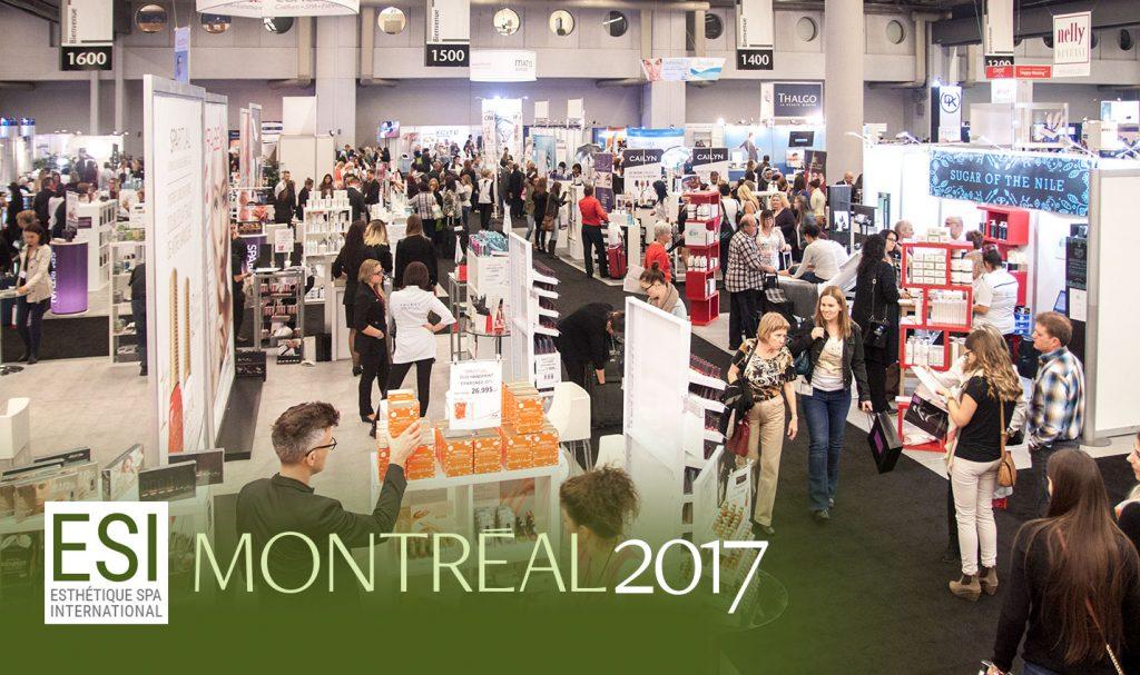 ESI congres beauté montreal 2017