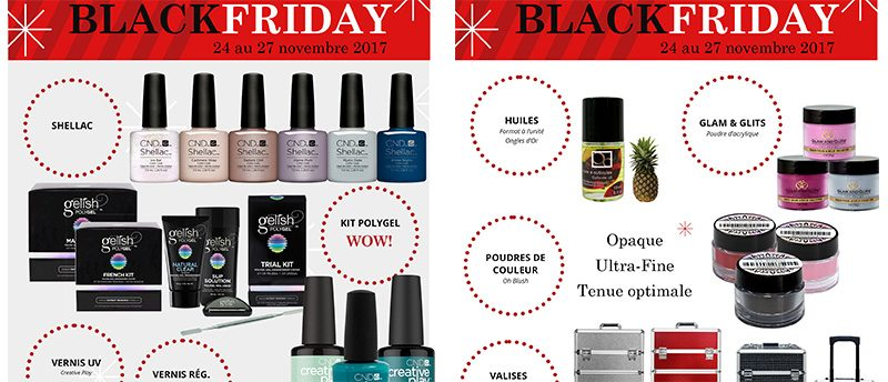 Black Friday Ongles d'Or 2017