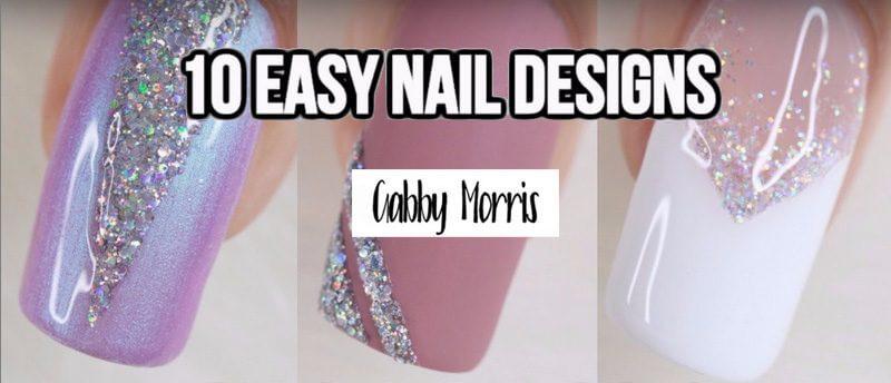 nail art fetes glitters