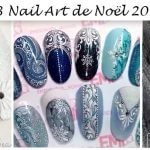 Nail Art Noël 2017
