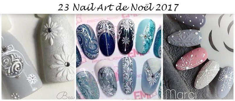 nail art noel 2017